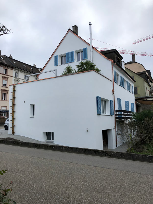 Sanierte Fassade